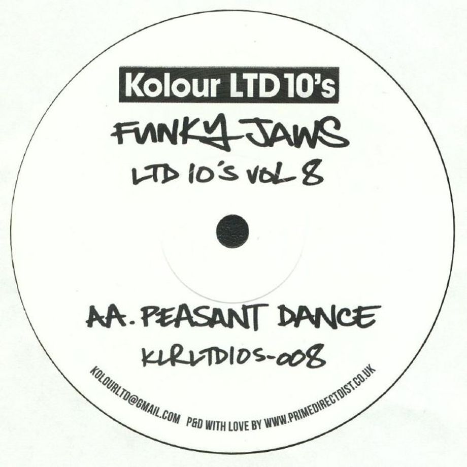 Funkyjaws - Ltd 10's Vol 8 | Kolour LTD 10's