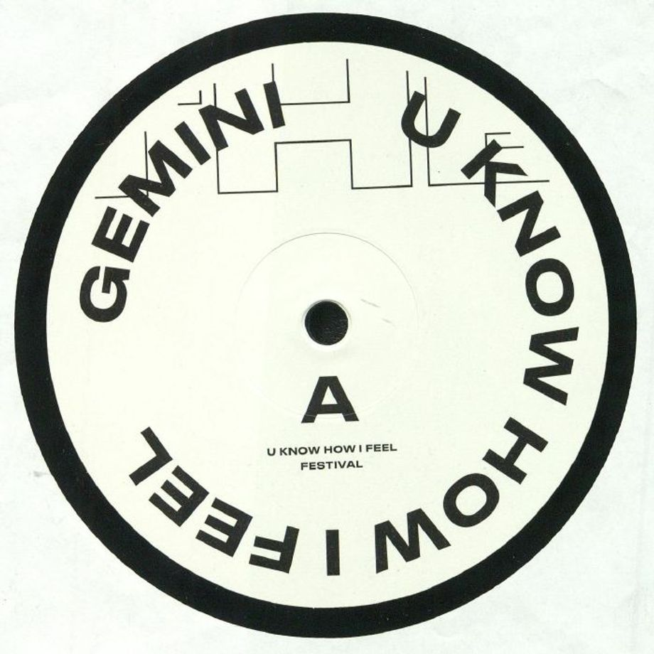 Gemini -  U Know How I Feel  | Anotherday Records